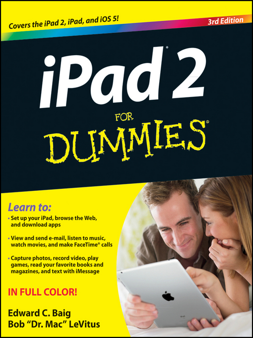 Title details for iPad 2 For Dummies by Edward C. Baig - Available