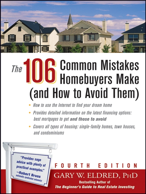 Title details for The 106 Common Mistakes Homebuyers Make (and How to Avoid Them) by Gary W. Eldred - Available