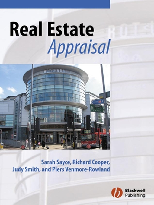 Title details for Real Estate Appraisal by Sarah Sayce - Available