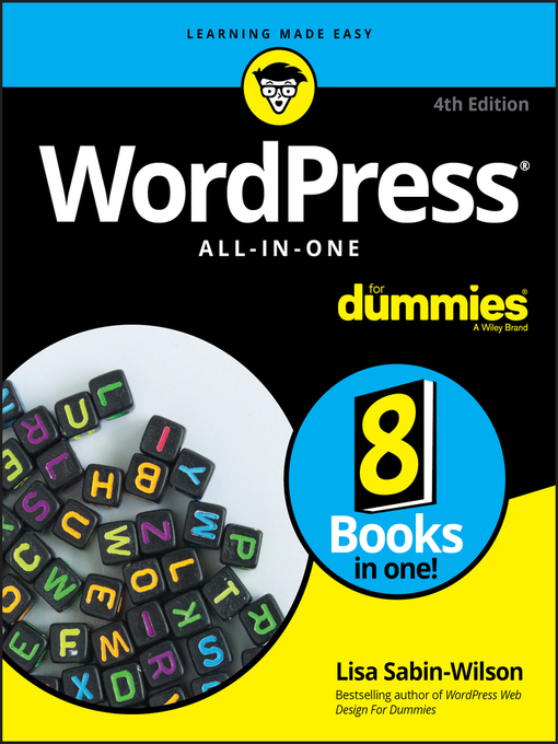 Title details for WordPress All-in-One For Dummies by Lisa Sabin-Wilson - Available