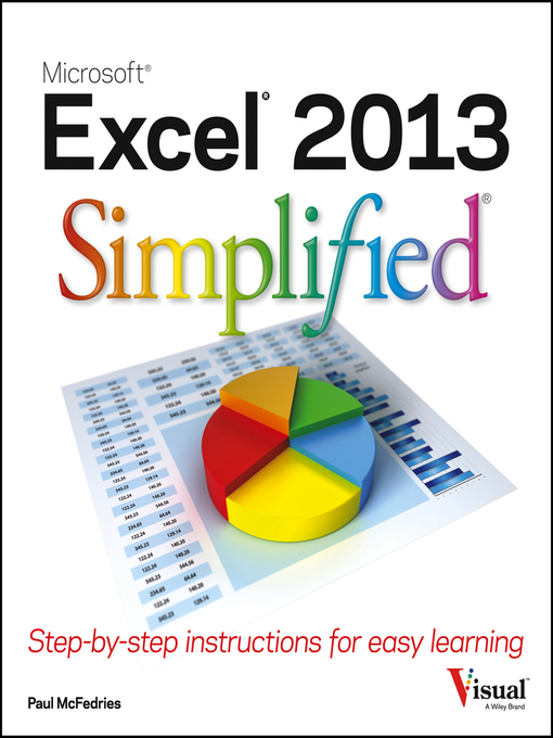 Title details for Excel 2013 Simplified by Paul McFedries - Available