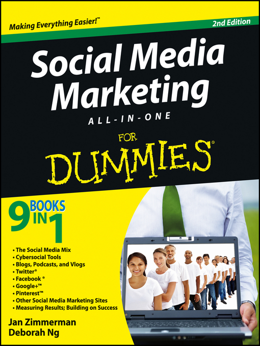 Cover of Social Media Marketing All-in-One For Dummies