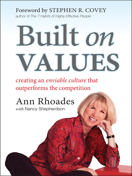 Title details for Built on Values by Ann Rhoades - Available