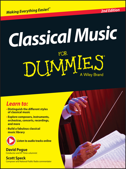Title details for Classical Music for Dummies by David Pogue - Available
