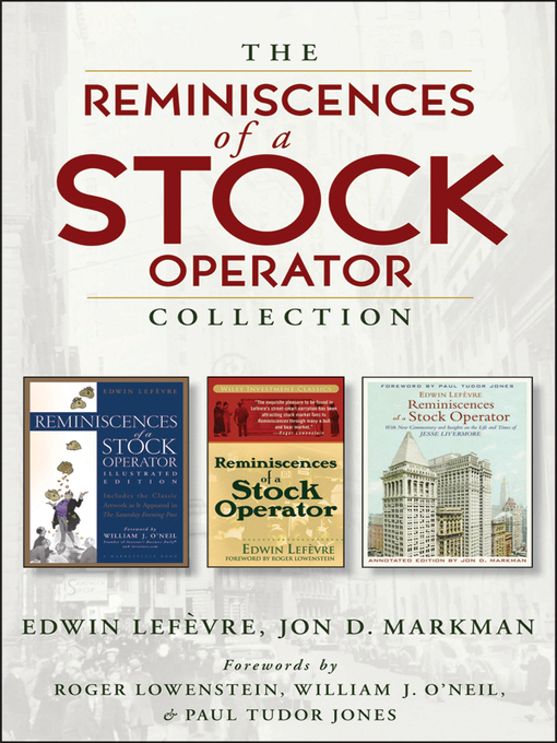 reminiscences of a stock operator epub