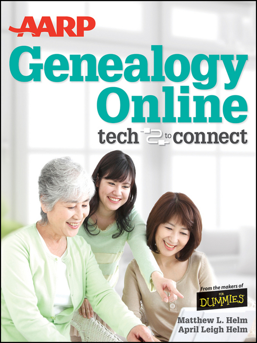 Title details for AARP Genealogy Online by April Leigh Helm - Available