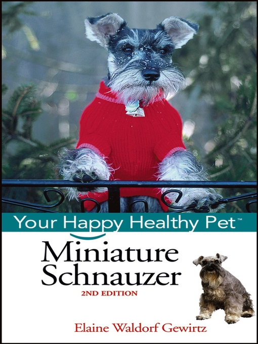 Title details for Miniature Schnauzer by Elaine Waldorf Gewirtz - Available