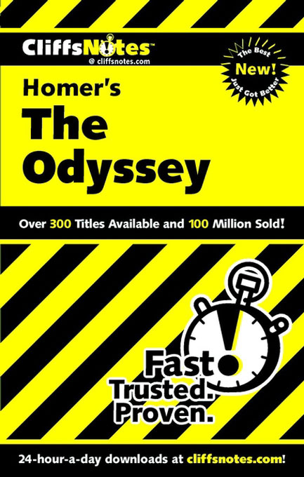 Title details for CliffsNotes<sup>TM</sup> on The Odyssey by Stanley P. Baldwin - Available