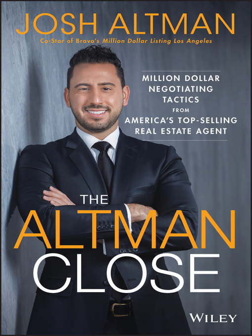 Title details for The Altman Close by Josh Altman - Wait list