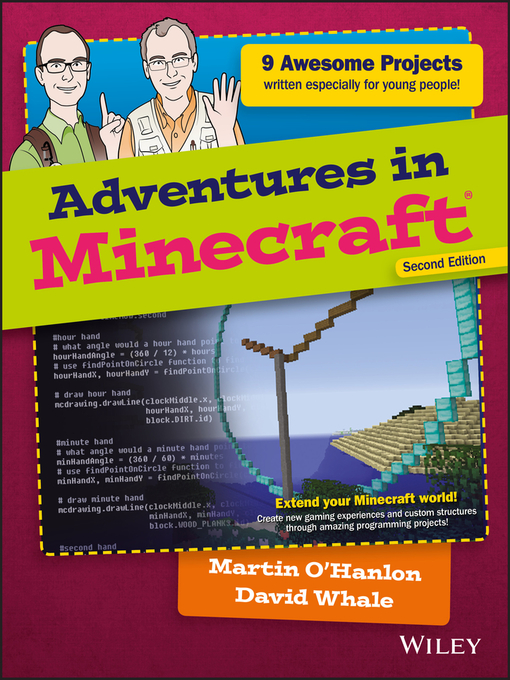 Title details for Adventures in Minecraft by David Whale - Available