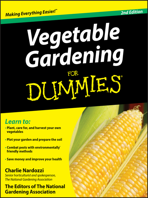 Title details for Vegetable Gardening For Dummies by Charlie Nardozzi - Wait list