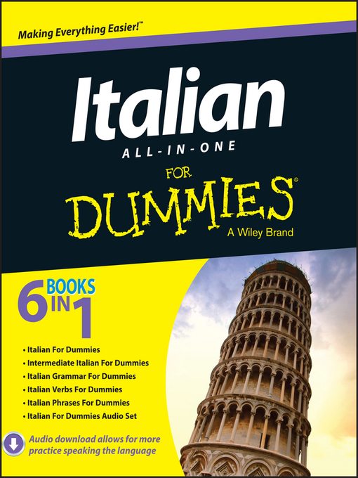 Title details for Italian All-in-One For Dummies by Antonietta Di Pietro - Available