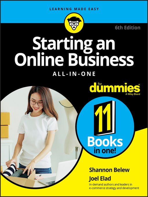 Title details for Starting an Online Business All-in-One For Dummies by Shannon Belew - Available