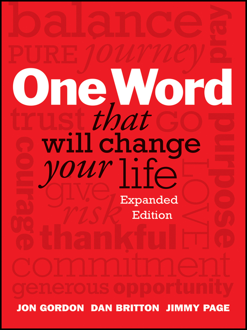 Cover of One Word That Will Change Your Life, Expanded Edition