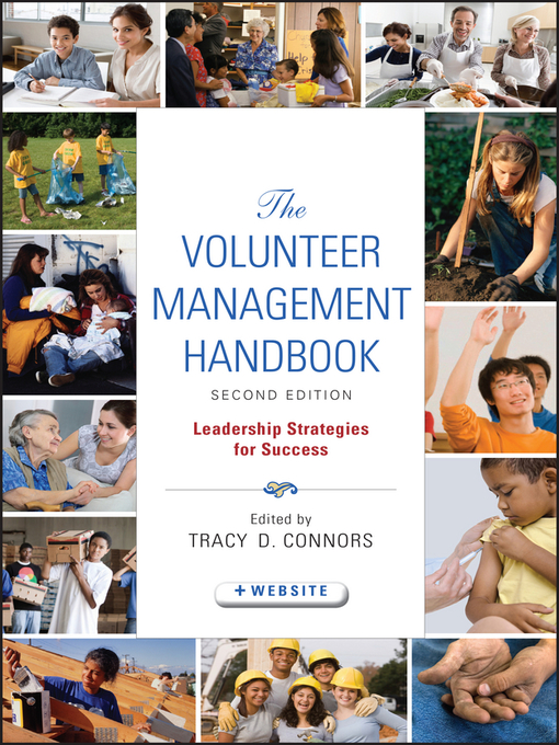 Title details for The Volunteer Management Handbook by Tracy D. Connors - Available