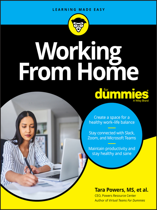 Cover image for Working From Home For Dummies