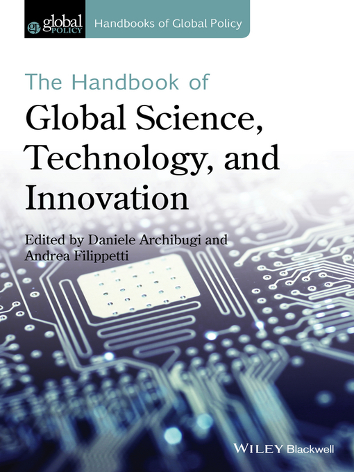 Cover of The Handbook of Global Science, Technology, and Innovation