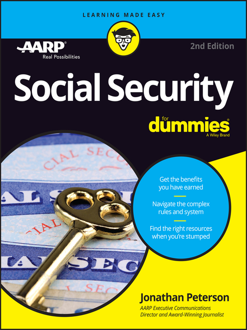 Title details for Social Security For Dummies by Jonathan Peterson - Wait list