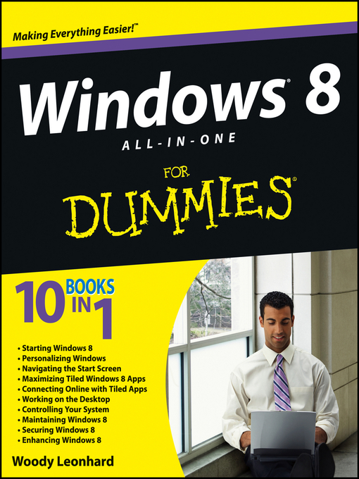 Title details for Windows 8 All-in-One For Dummies by Woody Leonhard - Available