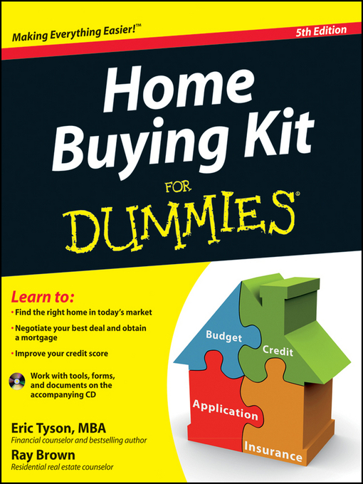 Title details for Home Buying Kit For Dummies by Eric Tyson - Available