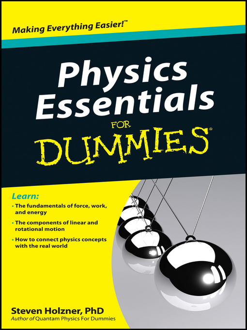 Title details for Physics Essentials For Dummies by Steven Holzner - Wait list