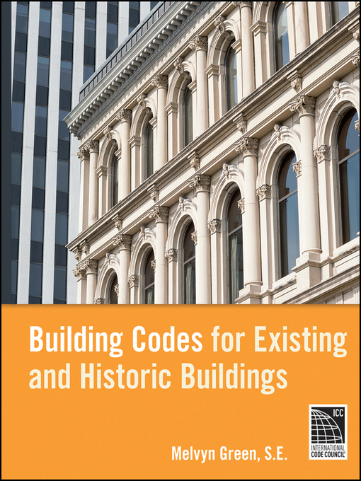 Cover of Building Codes for Existing and Historic Buildings