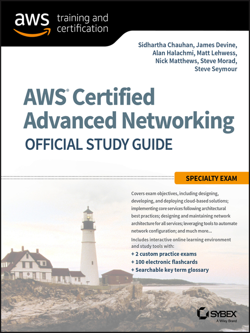 Aws Certified Advanced Networking Official Study Guide National