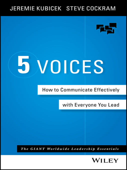 Title details for 5 Voices by Jeremie Kubicek - Available