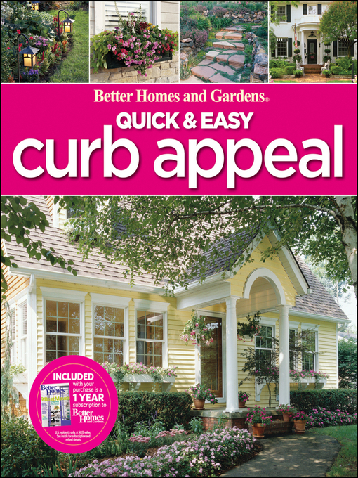 Title details for Quick & Easy Curb Appeal by Wiley - Wait list
