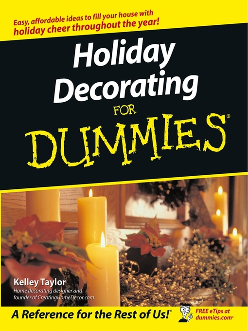 Title details for Holiday Decorating For Dummies by Kelley Taylor - Available