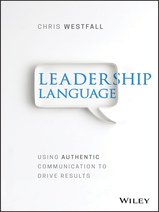 Title details for Leadership Language by Chris Westfall - Available