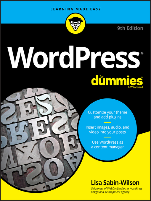 Title details for WordPress For Dummies by Lisa Sabin-Wilson - Available