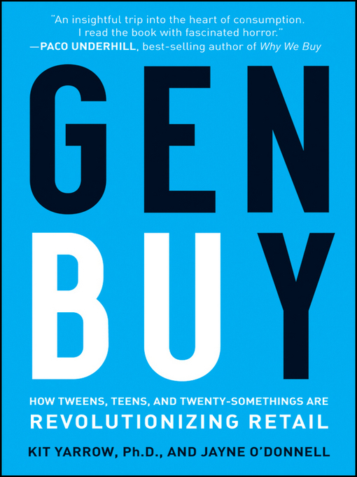 Title details for Gen BuY by Kit Yarrow - Available