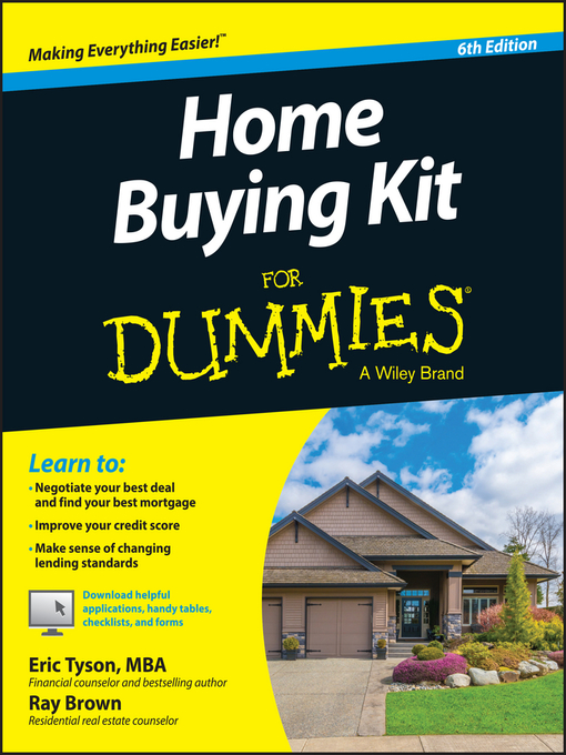 Title details for Home Buying Kit for Dummies by Eric Tyson - Wait list