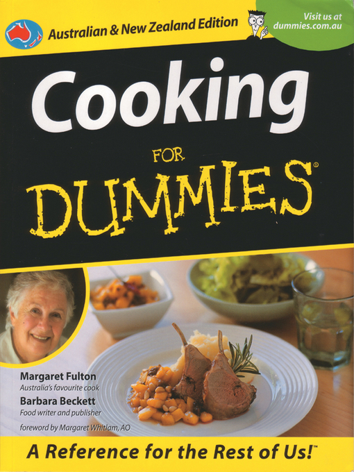 Title details for Cooking For Dummies by Margaret Fulton - Available