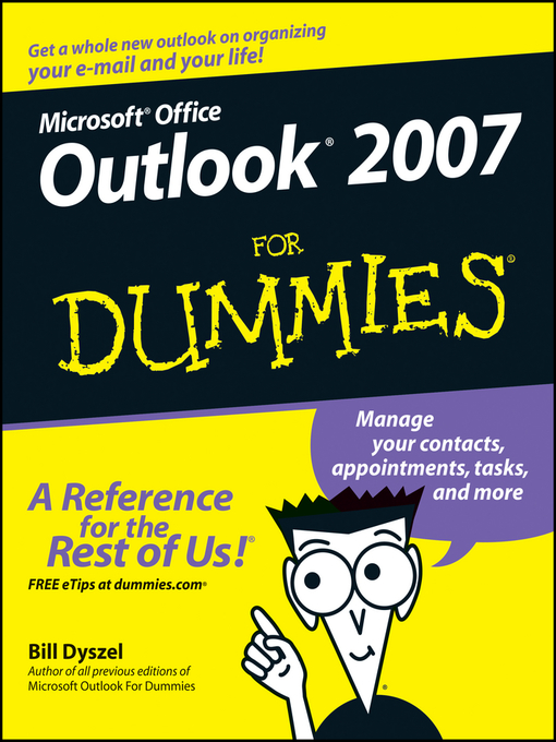 Title details for Outlook 2007 For Dummies by Bill Dyszel - Available