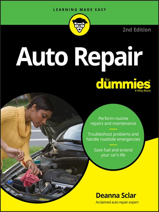Title details for Auto Repair For Dummies® by Deanna Sclar - Wait list