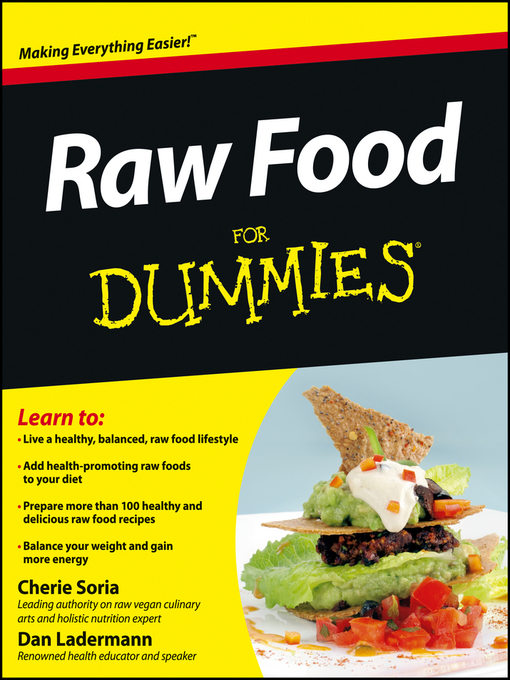 Title details for Raw Food For Dummies by Cherie Soria - Available