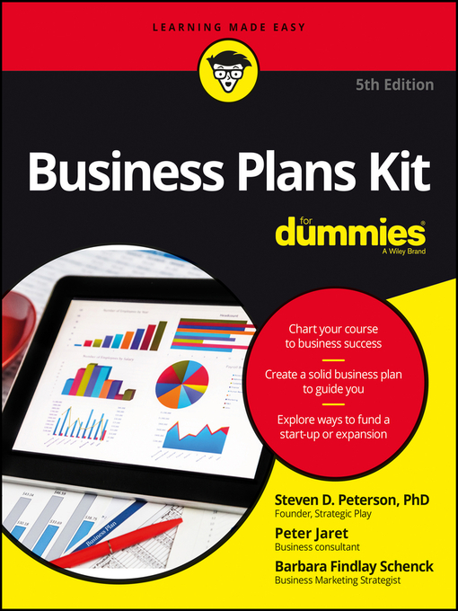 Title details for Business Plans Kit for Dummies by Steven D. Peterson - Available