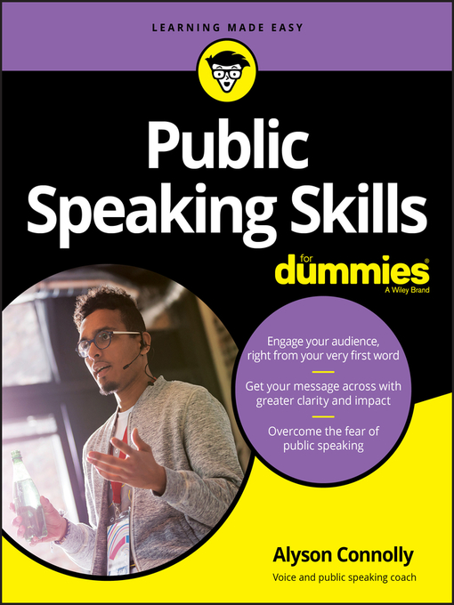 Title details for Public Speaking Skills For Dummies by Alyson Connolly - Available