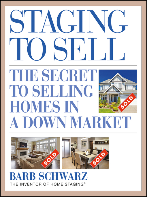 Title details for Staging to Sell by Barb Schwarz - Available