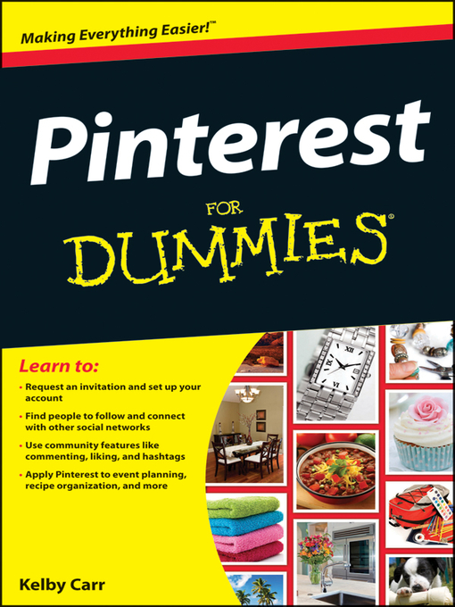 Title details for Pinterest For Dummies by Kelby Carr - Available