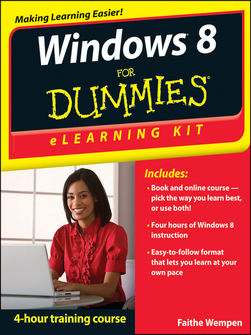 Title details for Windows 8 eLearning Kit For Dummies by Faithe Wempen - Available