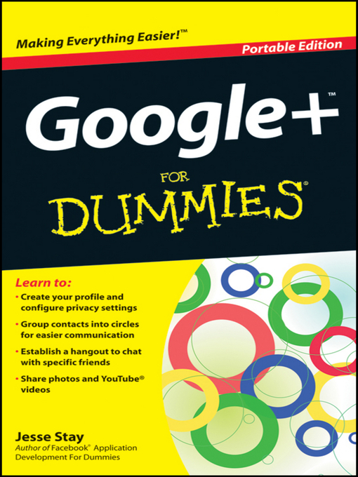 Title details for Google+ For Dummies by Jesse Stay - Available