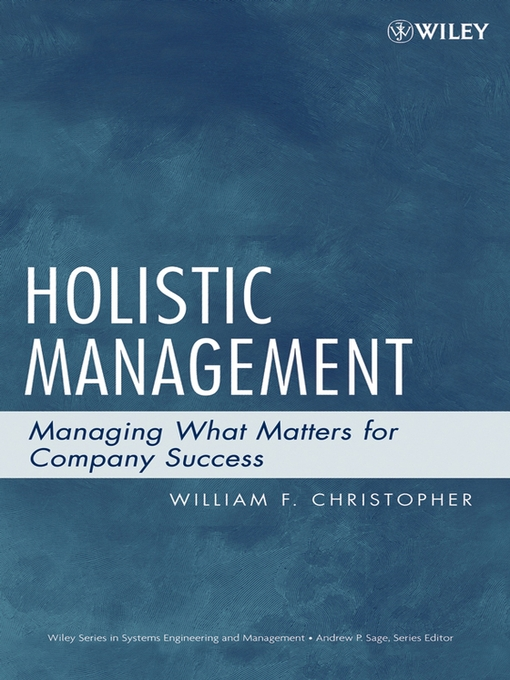 Title details for Holistic Management by William F. Christopher - Available