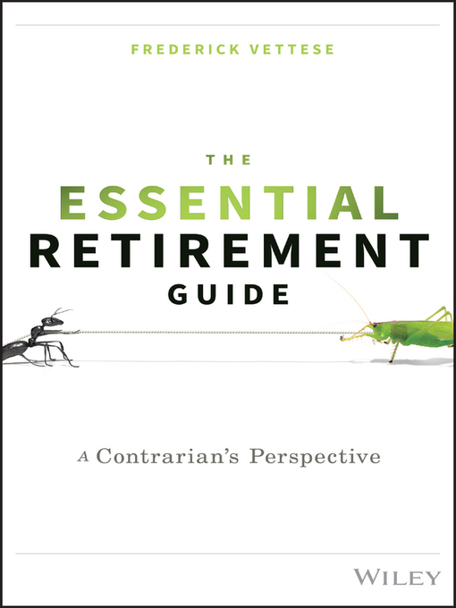 Title details for The Essential Retirement Guide by Frederick Vettese - Available