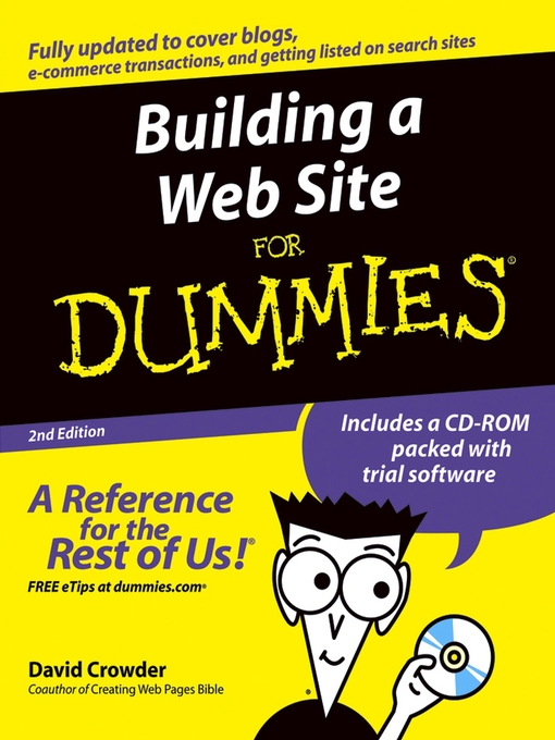 Title details for Building a Web Site for Dummies by David A. Crowder - Available
