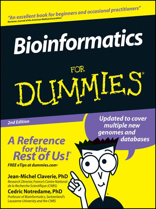 bioinformatics for dummies 3rd edition pdf free download