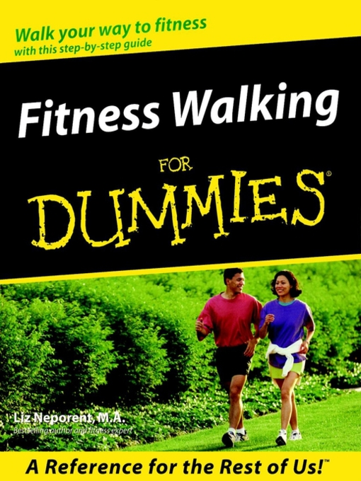 Cover of Fitness Walking For Dummies