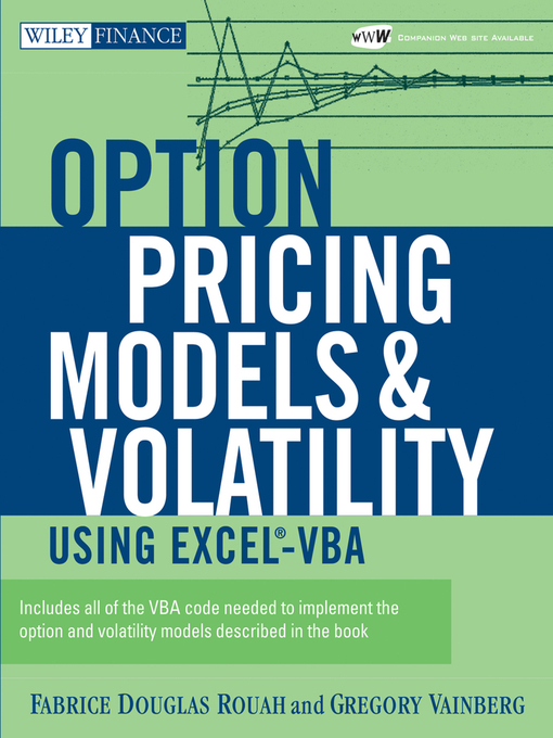 Option Pricing Models and Volatility Using Excel-VBA - National